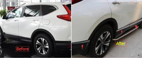 Yimaautotrims Exterior For Honda CR V CRV 2017 2018 Stainless Steel Side Door Molding Body Streamer Protector Strip Cover Trim