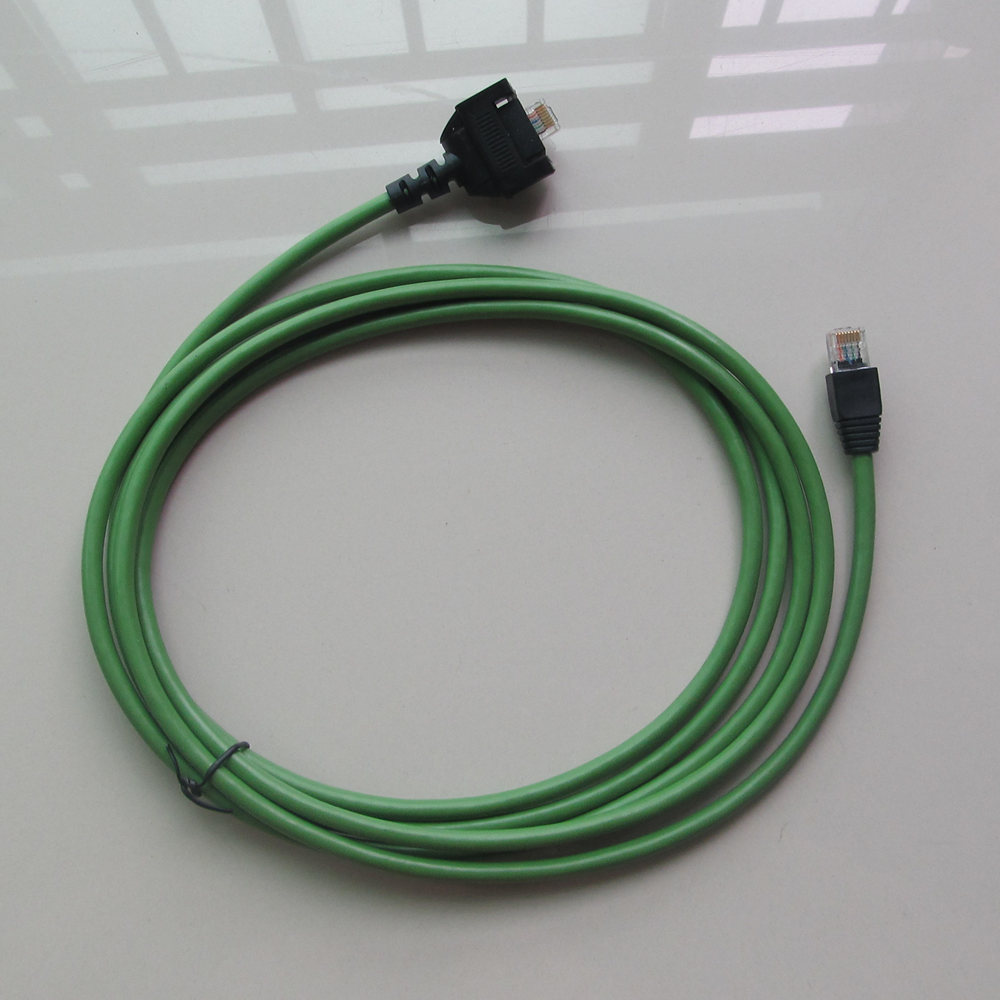 green lan cable for mb star c4 and mb star c5 wireless connect cable network connector in car diagnostic cables connectors from automobiles motorcycles  [ 1000 x 1000 Pixel ]