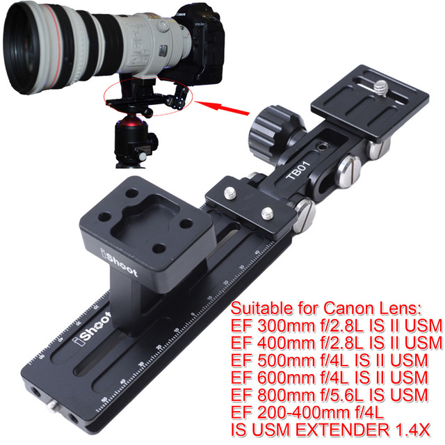 Tripod Mount Ring Base Support Collar Stand Camera Quick Release Plate Long Focus Lens Holder for Canon EF 500mm f/4L IS II USM