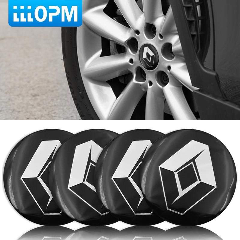 4 шт., колпачки-эмблемы для автомобильных шин Renault duster, megane 2, logan, renault clio