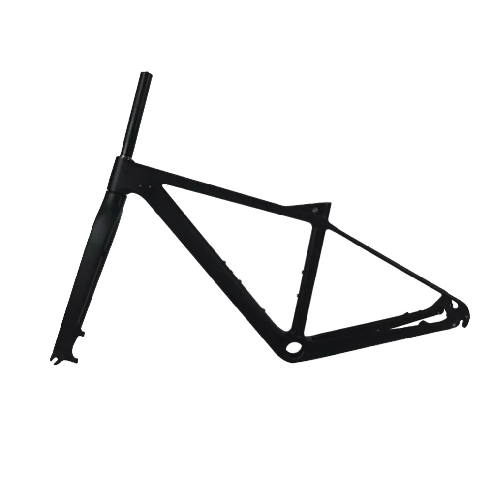 27.5er Full Carbon MTB Frame 650B Mountain Bicycle Frameset UD Matte/Glossy 135*9mm Frame+Fork+Headset+Clamp +PF30 Set smileteam new carbon mtb frame 27 5er mountain bicycle frameset 650b 135 9mm carbon frame ud matte or glossy frame headset clamp