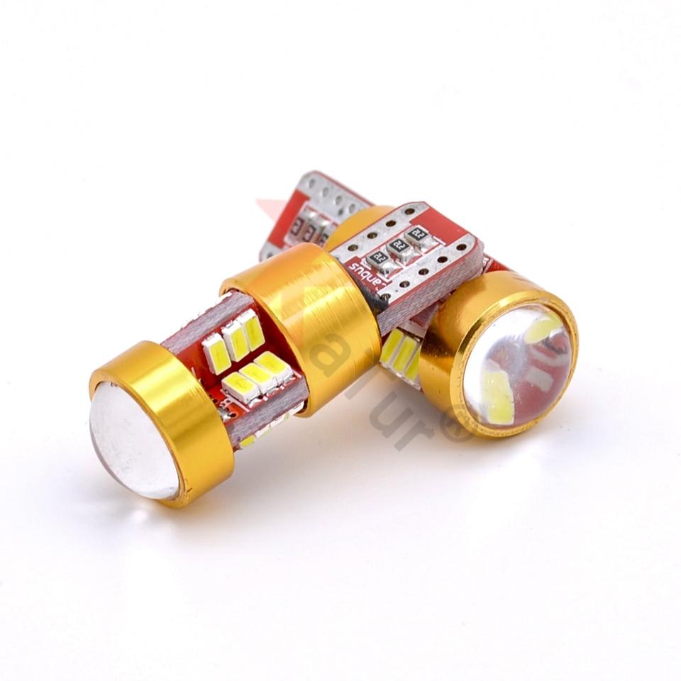 2Pcs T10 W5W Δεν OBC Σφάλμα CANBUS Σφάλμα Δωρεάν - Φώτα αυτοκινήτων - Φωτογραφία 5