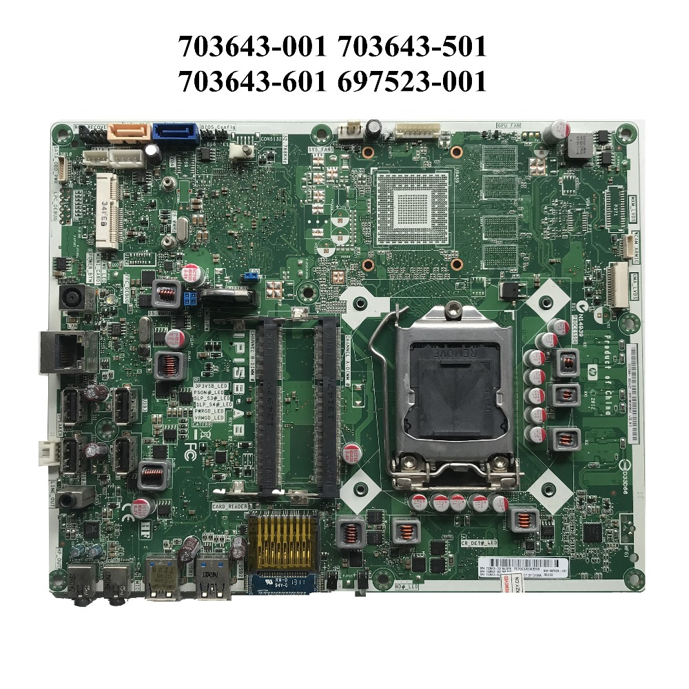For HP Pro All in One 400 G3 MT 703643 001 Desktop Motherboard 703643 501 703643 601 697523 001 IPISB AB 100% Working-in Laptop Motherboard from Computer & Office    1