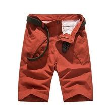 Neue Ankunft 2016 Khaki Knie Männer Plus Größe Lässige Cargo Pants Feste Commando Stil Overalls Multi Taschen männer Sommer Hosen