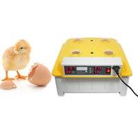 1 unidad  48 huevos  incubadora de huevos transparente Digital  incubadora  Control de temperatura de giro automático