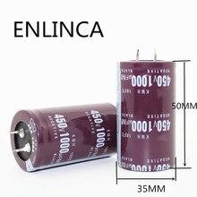 1 шт./лот 450V 1000 мкФ 450v680UF алюминиевый электролитический конденсатор с алюминиевой крышкой, размер 35*50 мм 450v1000uf 20