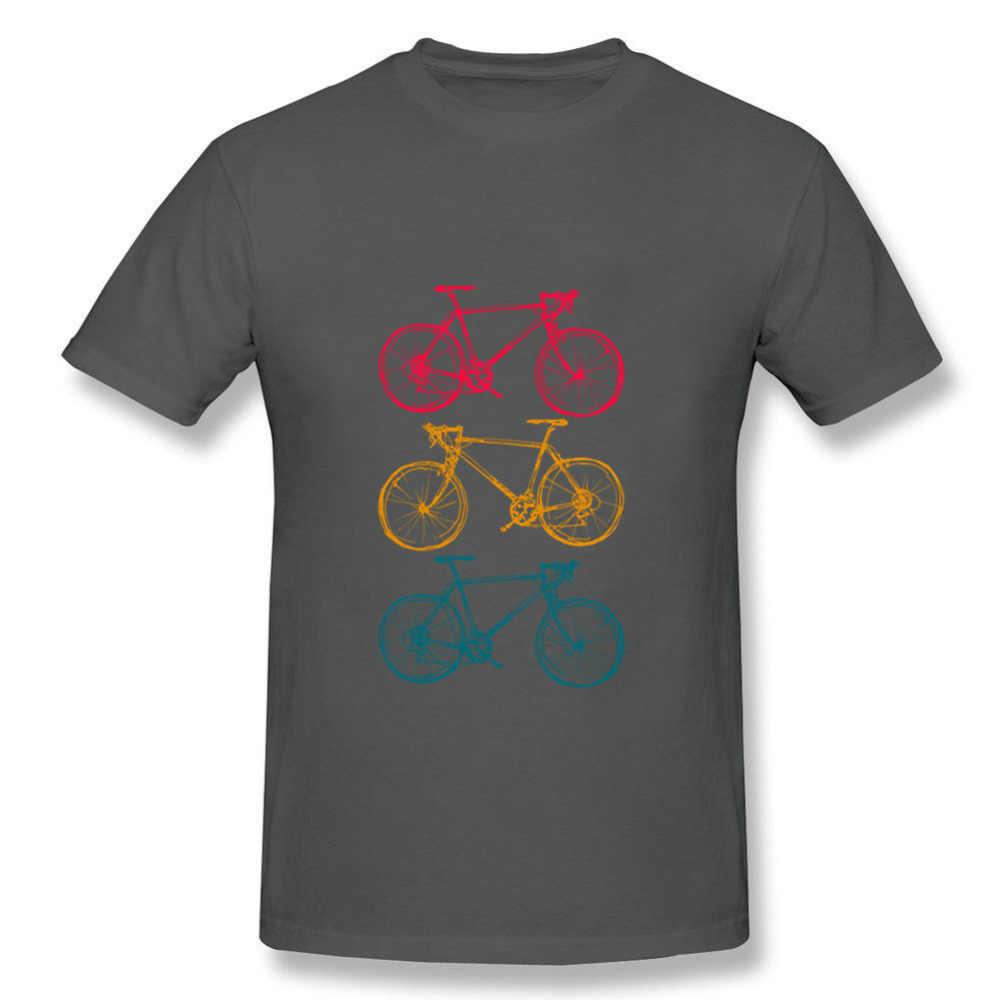 สามจักรยาน Doodles วาดเสื้อยืด Mens T เสื้อ Swag ขนาดใหญ่ 3XL ผู้ชาย T เสื้อตลกชาย Hip Hop Tee เสื้อ
