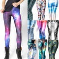 Hot Sale Women leggins 3D Digital Black milk Zombie Queen Skeleton Galaxy Print Leggings for Women 2017 New Trousers Wholesale