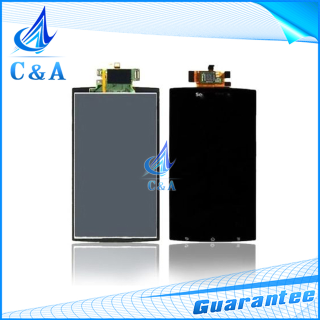 Testado substituição reparação tela para sony xperia arc s lt15i X12 LT18i display lcd com toque digitador 1 peça livre grátis
