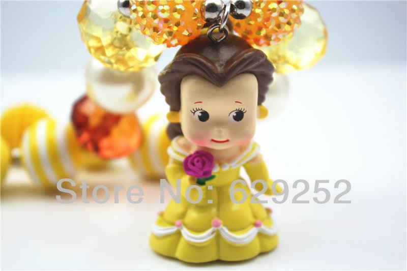 حار الأزياء 6 قطعة الكثير الأميرة فتاة مكتنزة قلادة ل مكتنزة قلادة مجوهرات