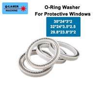 O Ring Washer Protective Windows for Fiber Laser Head 1064nm