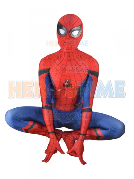 Spiderman Homecoming Costume 3D Printed Cosplay Zentai Suit Home Coming Spider-Man Coser Costume Custom Made Available