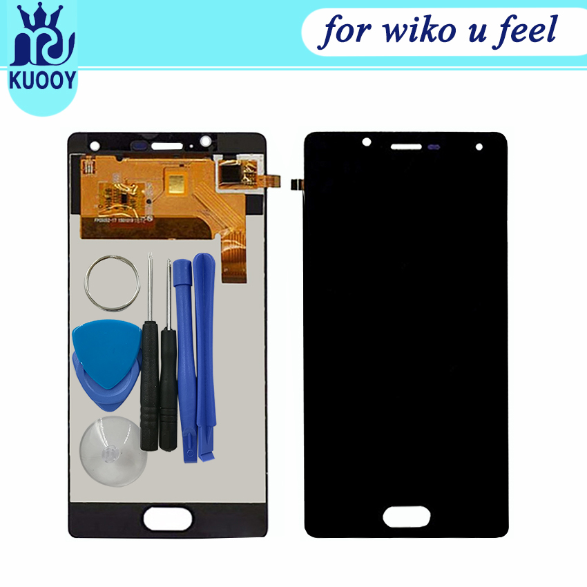 For Wiko UFeel U Feel Full LCD Display Digitizer Touch Screen Monitor Sensor Assembly
