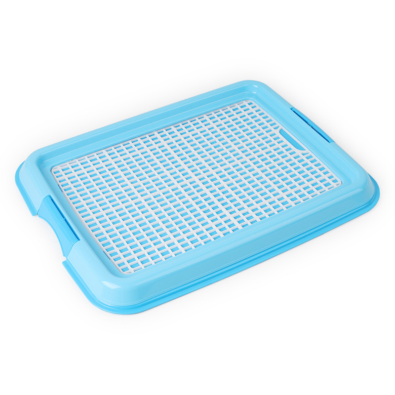 Reusable Puppy Training Pad with Grid Tray for Pets Potty Training Made with PP Resin Material 7