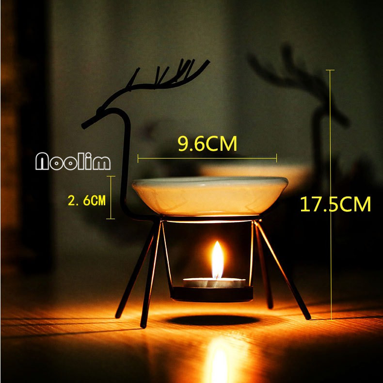 Kreative Weihnachten Hirsch Eisen Keramik Ölbrenner Aroma Brenner ...