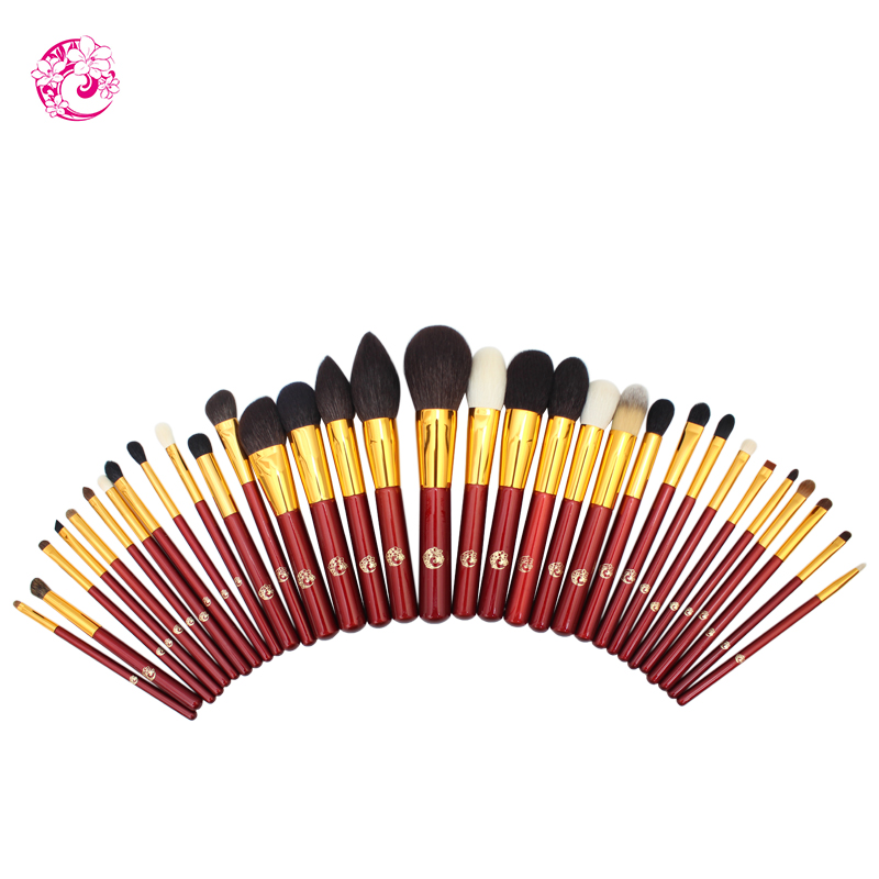 ENERGY Brand Goat Hair 32 Pieces Sets & Kits Brush Make Up Makeup Brushes Pinceaux Maquillage Brochas Maquillaje jh0 цена 2017