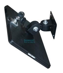 Image 4 - Fit voor ipad 2/3/4/5/air/pro wall mount metalen case voor ipad stand display beugel tablet pc lock houder ondersteuning Stel de hoek