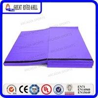 2.4 m x 1.2 m x 5 cm Goede kwaliteit gymnastiek mat sit mat Paars Mat