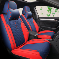 Luxury Leather Auto Universal 8 color Car Seat Cover Automotive,Car Styling For Benz BMW Audi Dodge Ford Volvo Mazda Sedan SUV