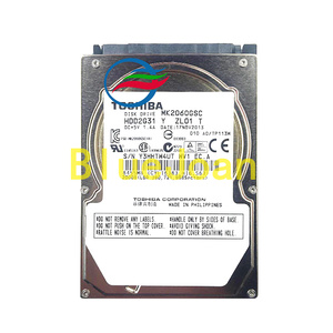 Image 1 - Brand new Disk drive MK2060GSC HDD2G31 Y ZL01 DC+5V 1.4A 200GB For BMW Car radio HDD navigation systems