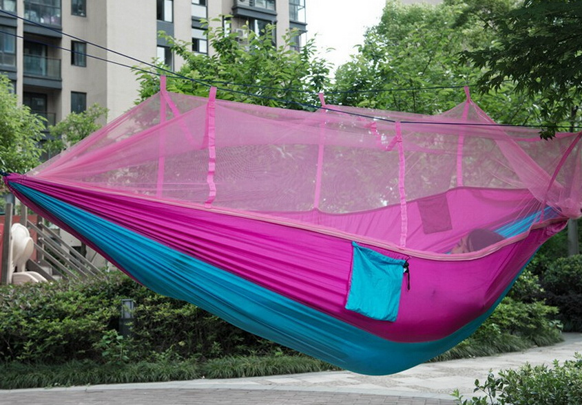 Tendë e çadrës me rrjeta mushkonjash. Kampe hamak, ultratinguj dhe - Kampimi dhe shëtitjet - Foto 4