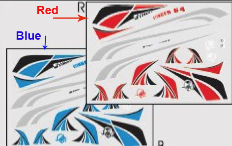 Online Get Cheap Rc Plane Decals Aliexpresscom Alibaba Group - Vinyl stickers for rc boats