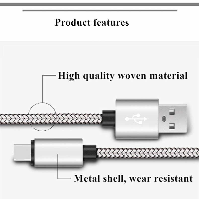 Byleen V8 أندرويد شاحن 0.25/1/2 متر طويل USB 2.0 المصغّر USB تهمة ل شاومي 1s 2 2s 3 4s Redmi 2 s/3 s/3X/4X/نوت/3/4 /5 زائد s2