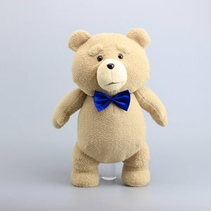 """Image 2 - 18"""" 45CM Teddy Bear TED Plush Toys with Blue Tie Pirate Teddy Soft Stuffed Dolls Toy Children Gifts"""