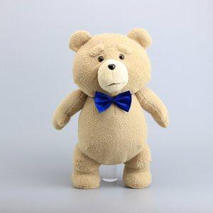 """Image 2 - 18 """"45CM Teddy Bear TED peluş oyuncaklar mavi kravat korsan oyuncak yumuşak dolması bebekler oyuncak çocuk hediyeler"""