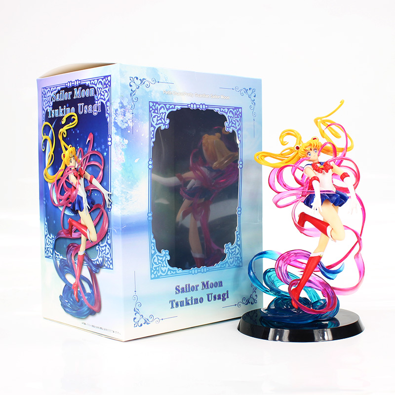 20cm Sailor Moon Tsukino Usagi figure model toy sailor moon figure collection gift for girls birthday sailor moon 5