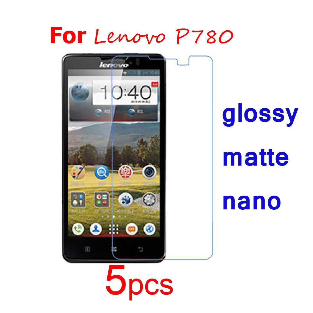 5pcs Guard Protective Films For Lenovo P780 S650 S960 Vibe X K900 Android Quadcore Screen Protector Ultra Clear Matte Nano Explosion Proof Film In Phone Protectors