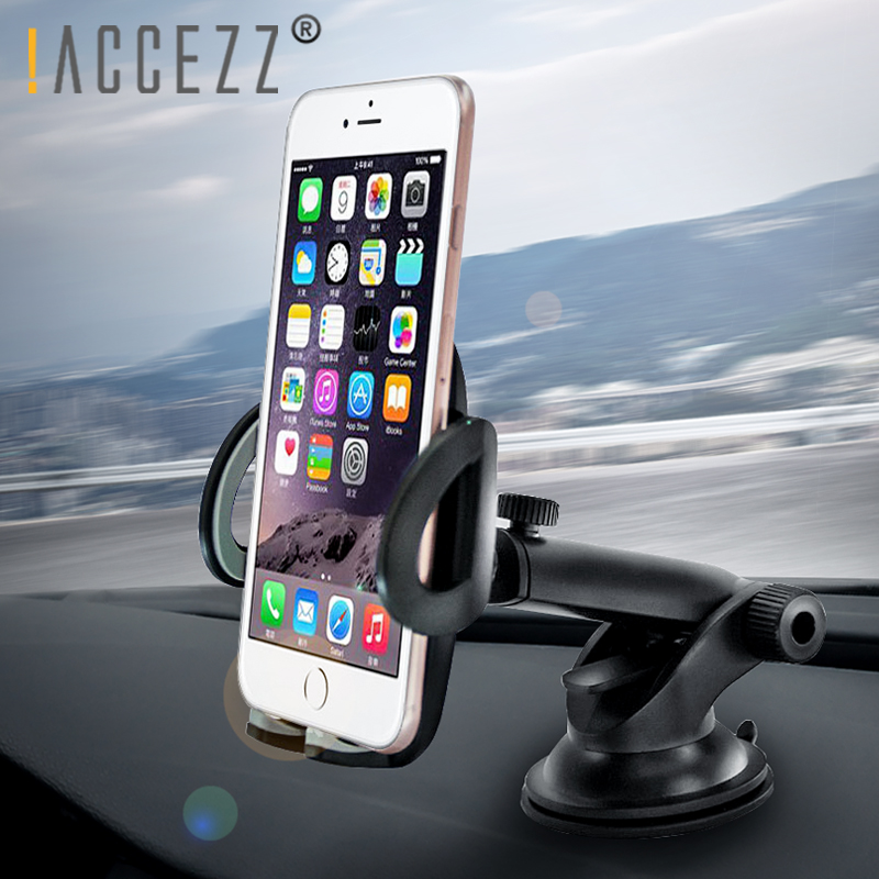 !ACCEZZ Luxury Car Phone Holder For iPhone X XS MAX Plus Xiaomi 8 Samsung S8 Huawei Gravity Sucker Smartphone Holders Stand