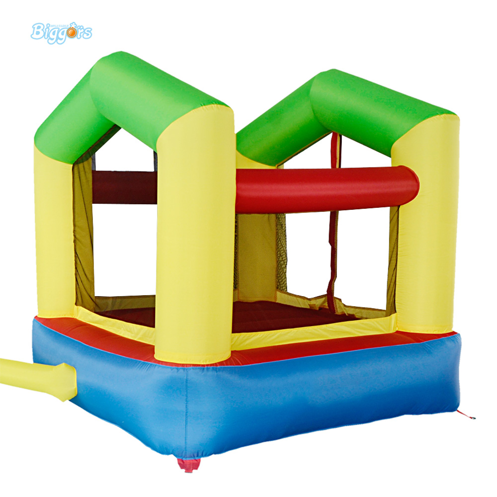 DHL Free Shipping Inflatable Bouncer Mini Bouncy Jumper with Blower Piece for Sale for KIds  цены