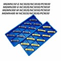 Канавочный резец MGMN300 MGMN200 MGMN150 MGMN400 NC3020 NC3030 PC9030 со шлицем и прорези карбидный Металл токарная обработка MGMN200 токарные инструменты