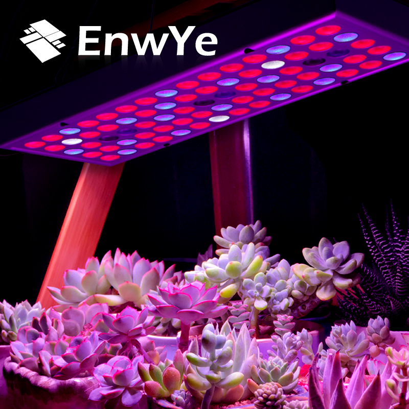 EnwYe Plant Growth Lamp 25W 45W 85-265V LED Grow Light 50W 100W 220V Full Spectrum For Indoor Greenhouse Grow Tent