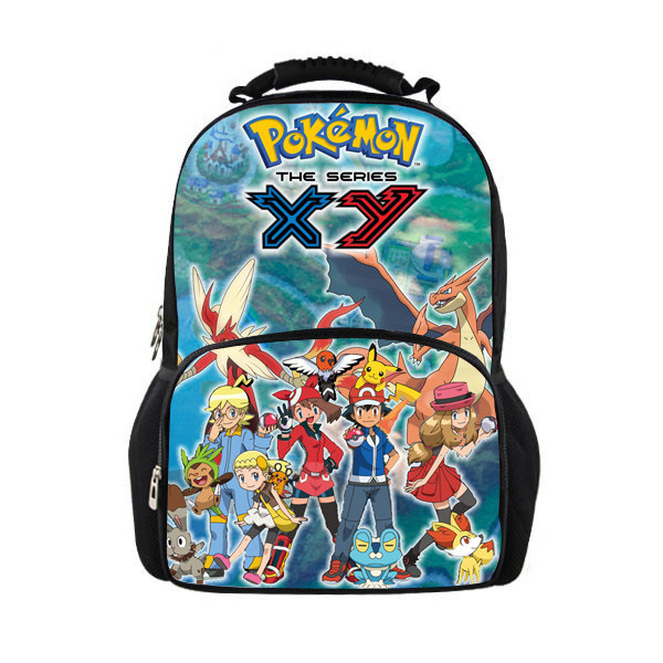 c3b64fba96a2 FORUDESIGNS Pokemon Anime Printed School Bags Junior Students Boys and Girls  Schoolbags for Teenagers School Backpacks