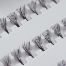 Hot Black 8mm  10mm 12mm 60  Individual  False Eyelash Cluster Eye Lashes Extension Tray  For Make up
