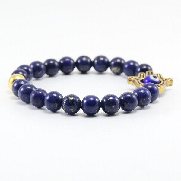 8df25f343cc5d US $1.9 24% OFF Aliexpress.com : Buy BB0335 natural stone bracelet, blue  lapis lazuli bracelet, men and women of ancient gold Buddha bracelet. from  ...
