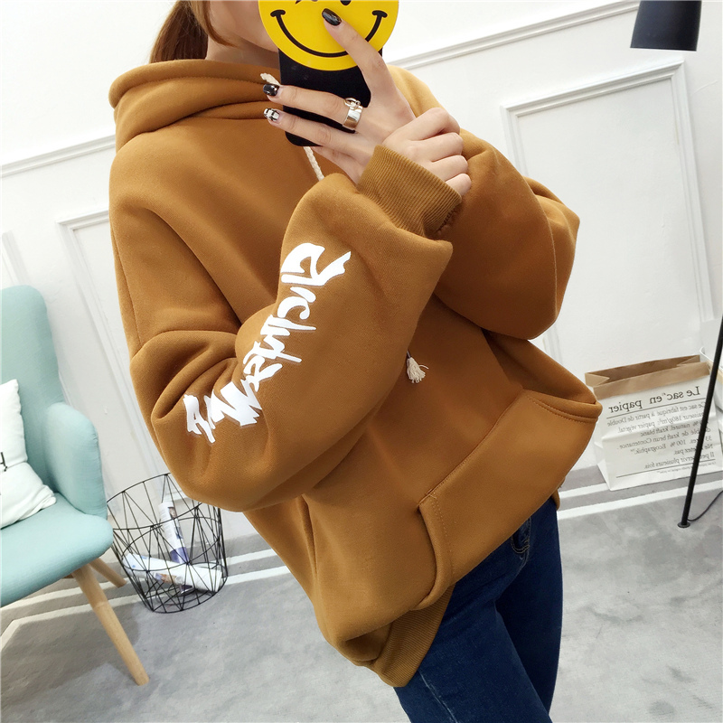 six senses harajuku women hooded long sleeve sweatshirt 2017 women pullover bts hoodies  ...