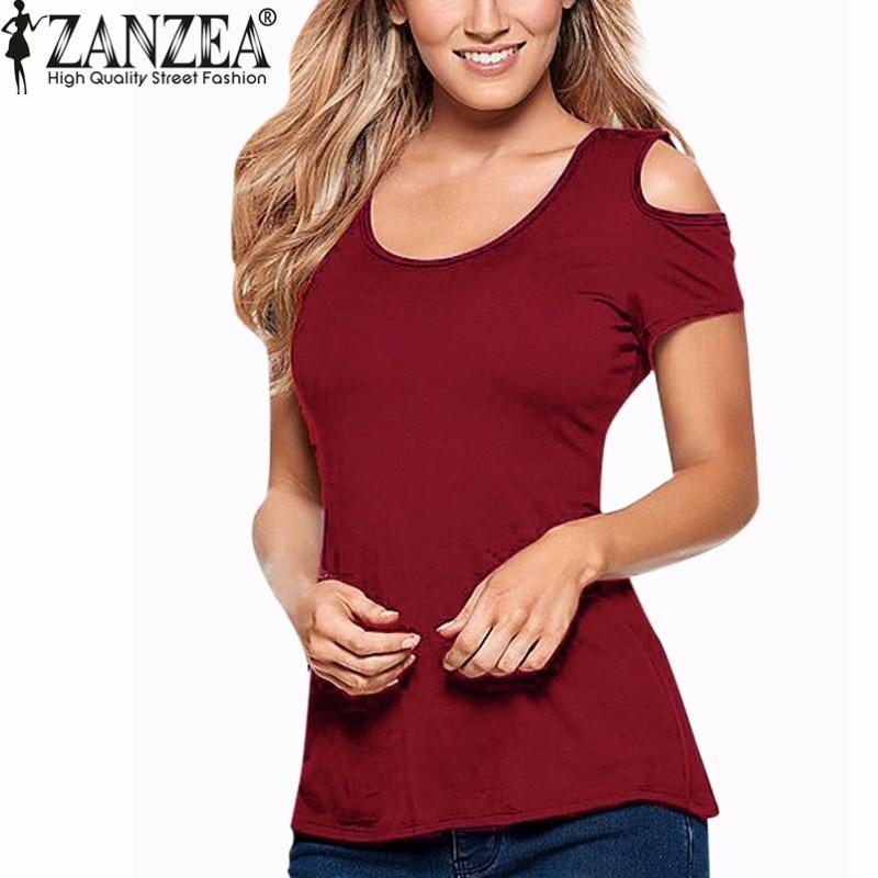 ZANZEA 2018 Ljeto Blusas Seksi žene bluze čipke kukičanje kratki - Ženska odjeća - Foto 5