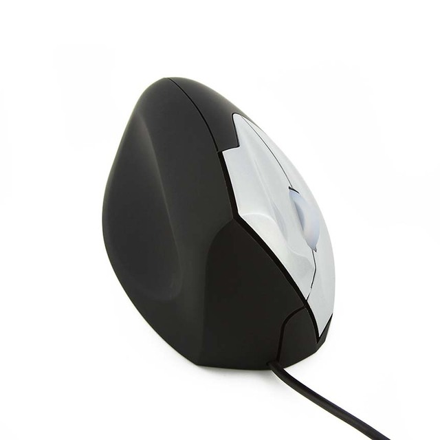 CHYI Left Hand Vertical Mouse Human Body Ergonomic Wired Mouse Rechargeable Optical Gaming Mice Computer Mause For PC Laptop 3