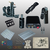 YILONG New Arrival 1 set Tattoo Kit Power Supply Gun Complete Set Equipment Machine Wholesale 1110403kitA