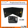 TCP/IP linux 12V5A питания панели управления коробки 26bit Wiegand одной двери контроля доступа совета