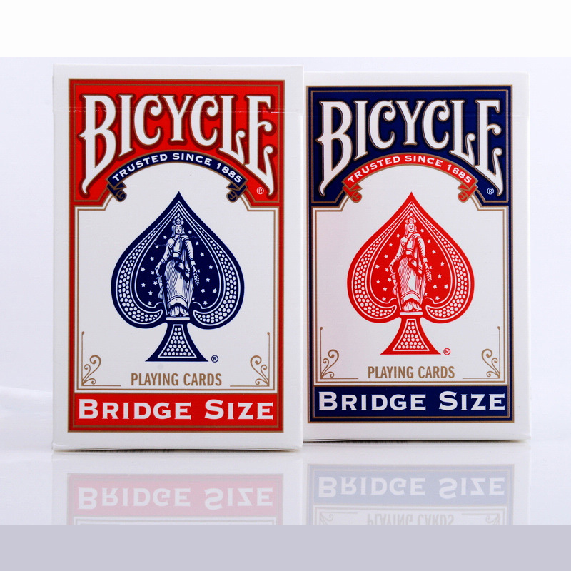 Blue/Red Bicycle Bridge Playing Cards Magic Category Poker Cards for Professional Magician