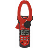 Блок UT209A Цифровой мультиметр зажим 1000A 1000 в True RMS измеритель зажим Voltmeter Амперметр Вольтметр ЖК подсветка ac dc токовый зажим