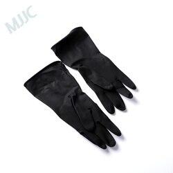 MJJC ochrona rąk miękkie gumowe rękawice do mycia samochodów wodoodporna rękawica do mycia rękawic ochronnych