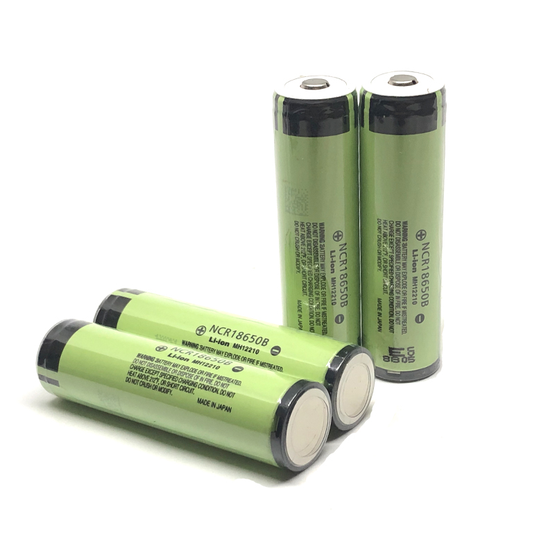 4pcs/lot New Original Protected Battery For Panasonic 18650 NCR18650B Rechargeable 3.7V 3400mAh Li-Ion Batteries With PCB