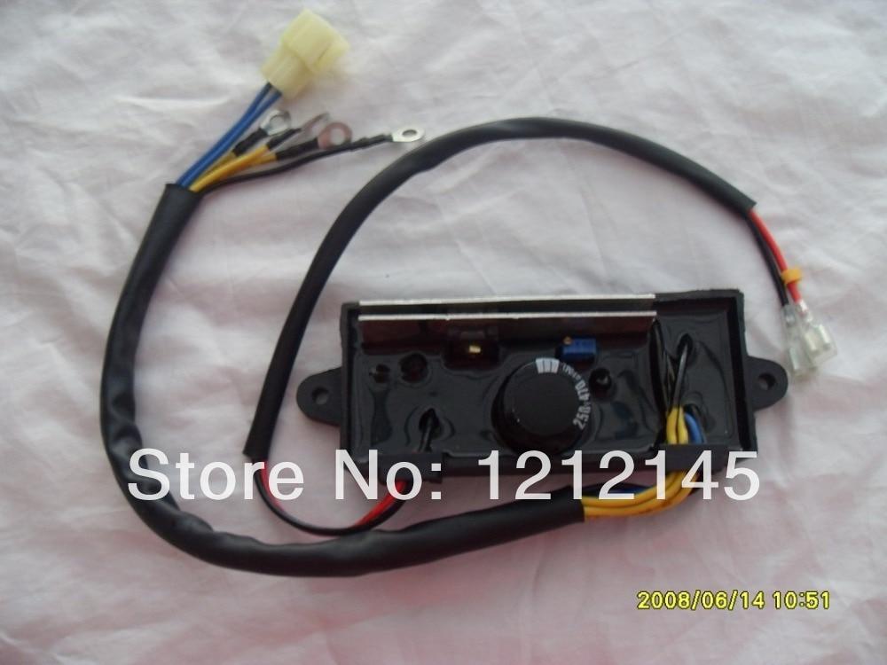 GTDK5-3A60C Generatore di Saldatura AVR Per KIPOR KAMA Trifase 5KW 5.5KWGTDK5-3A60C Generatore di Saldatura AVR Per KIPOR KAMA Trifase 5KW 5.5KW