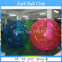Free Shipping 10pcs +1Pump Colorful Inflatable Water Ball Water Walking Ball(TIZIP zipper+CE pump)