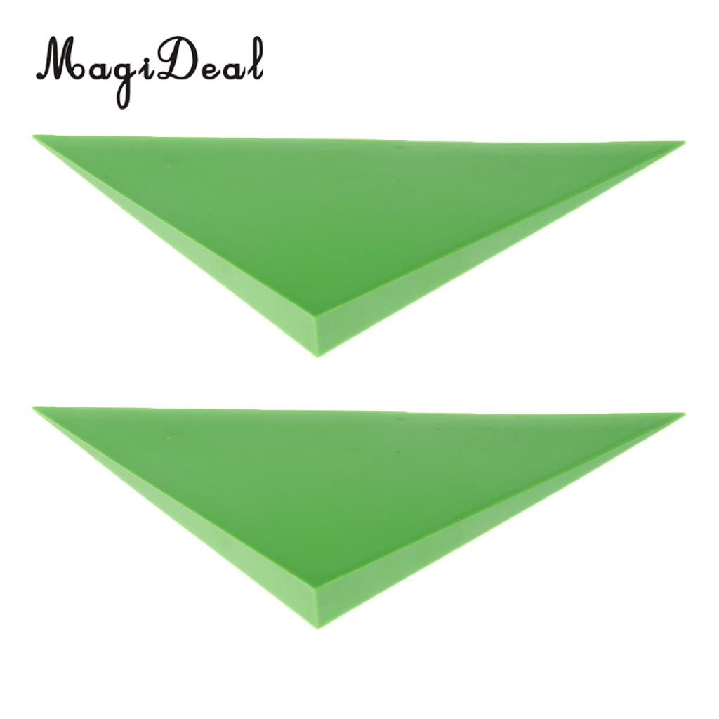 2// 4PCS Foosball Machine Table Triangle Shaped Corner Edge Angle Parts Useful